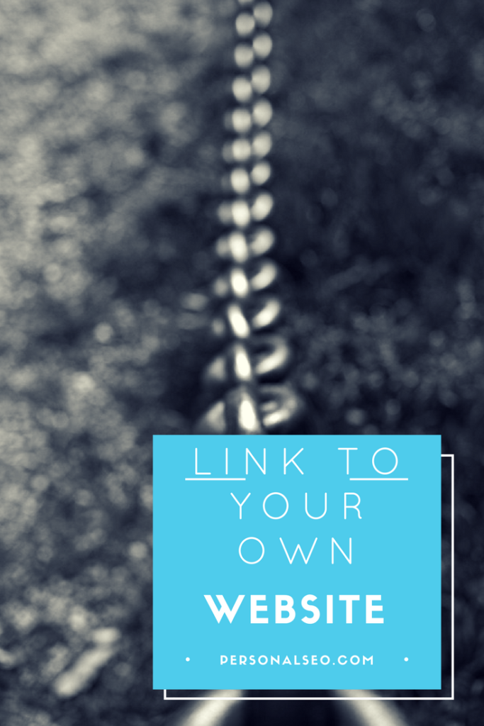Linking to your own articles